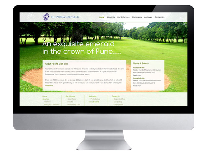 Poonaclub Website Home