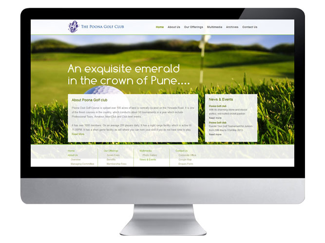 Poonaclub Website Home2